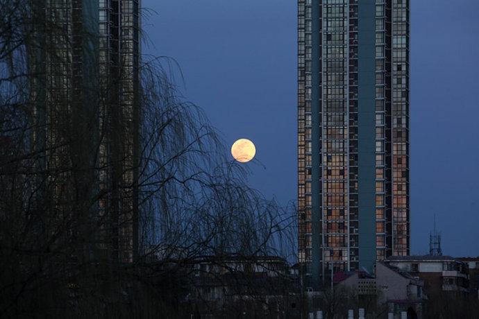月上柳梢头 人约黄昏后